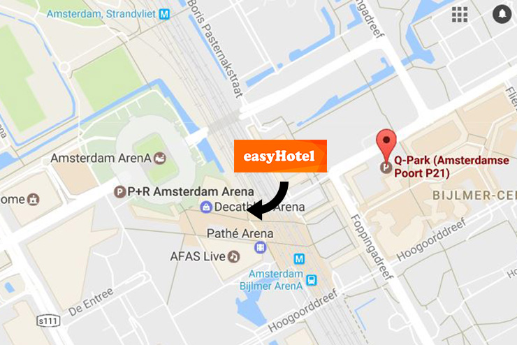 Hotel Bij Arena Amsterdam