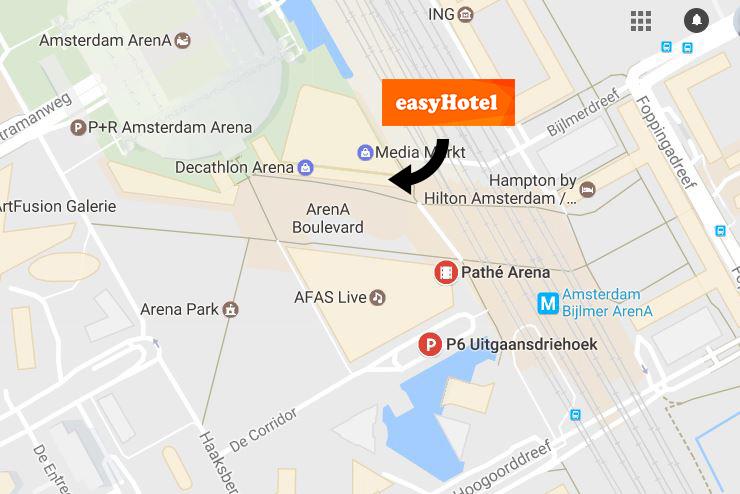 Hotel Amsterdam Arena Goedkoop
