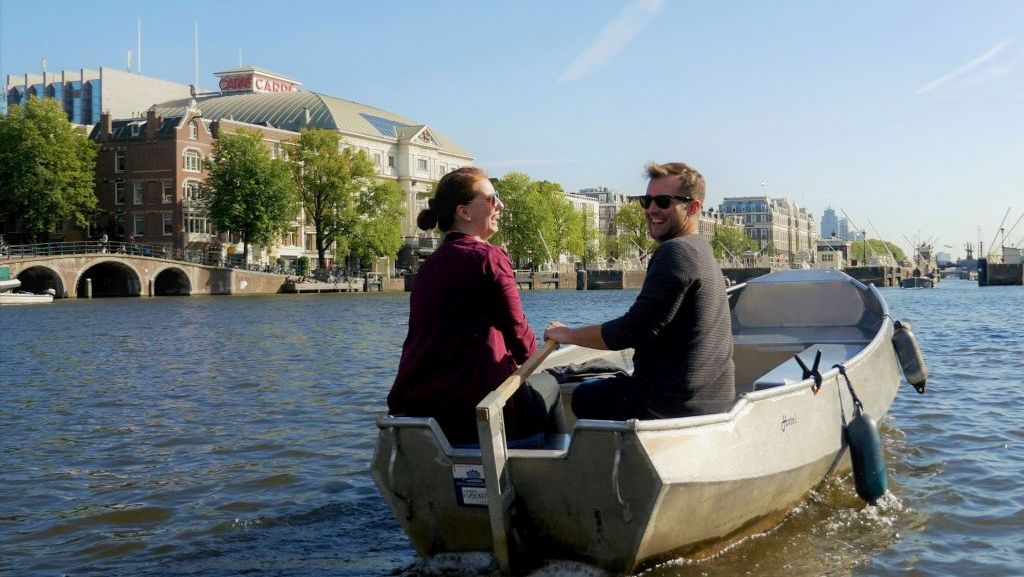 Boaty Rent a Boat Amsterdam & easyHotel Amsterdam City Centre South