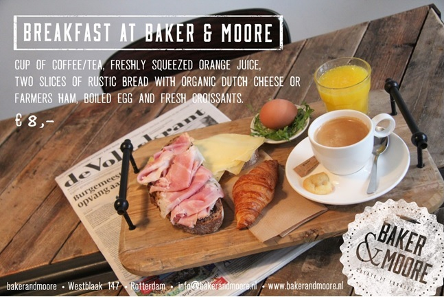 Breakfast flyer Baker & Moore