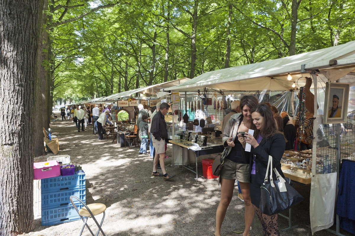 Market The Hague Lange Voorhout