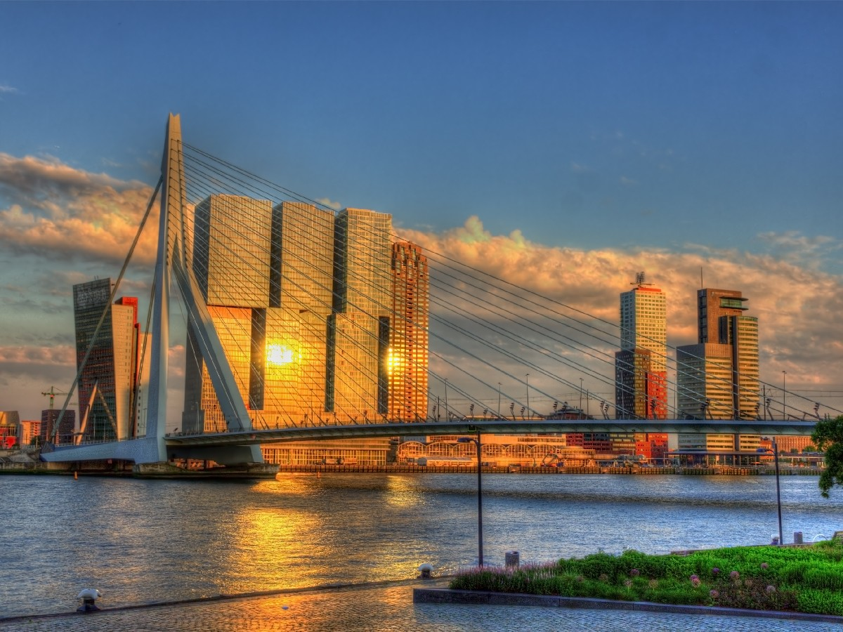 View of Rotterdam – Netherlands
