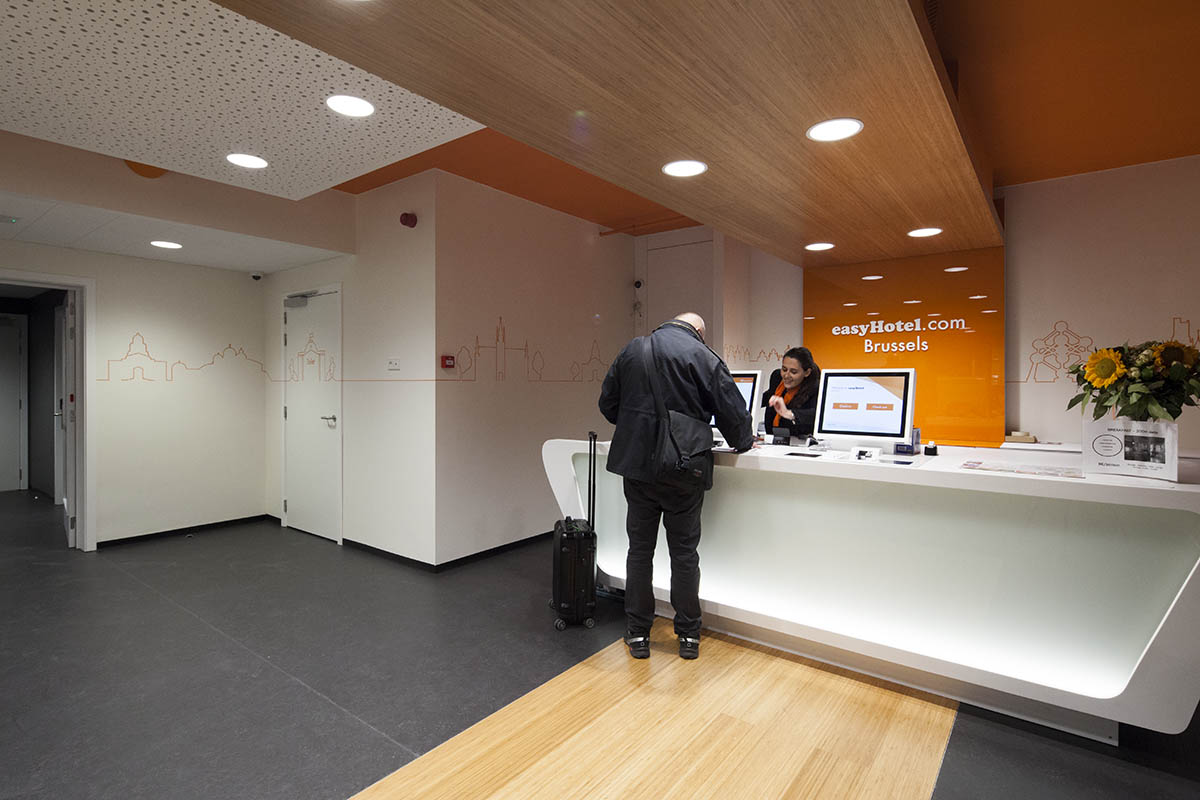 easyHotel Brussels City Centre Check-in Kiosks